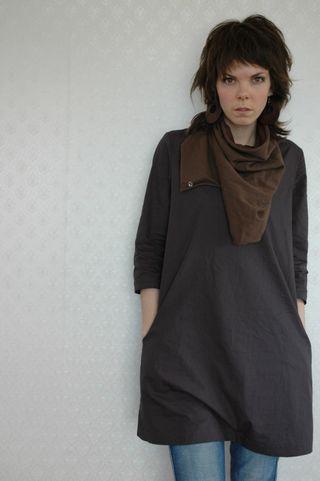 Grey Dress 1
